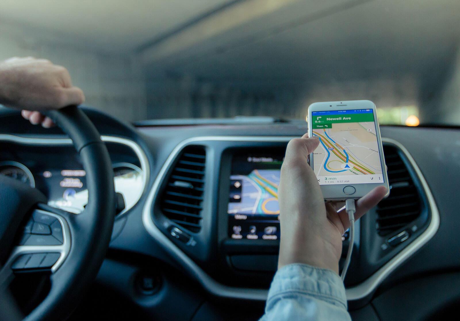 Sistemas de geolocalización profesional para coches