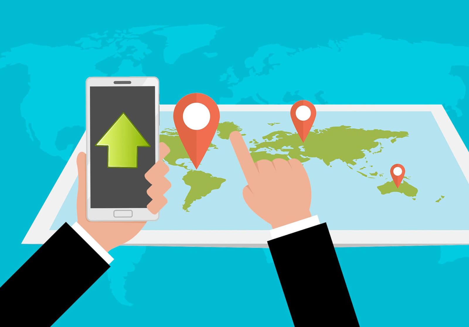 Cómo utilizar los dispositivos de geolocalización